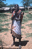 a Masai woman and chid
