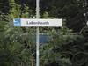 pic by Liz <br /> <br /> Lakenheath station sign on plat 2 Cambridge bound platform