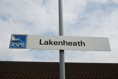 Lakenheath <br /> <br /> Another station that gets a very limited service with only <br /> <br /> at time we came here: <br /> <br /> 5 trains each way on a Sunday <br /> <br /> 1 train each way on a Saturday <br /> <br /> no service Mon - Fri <br /> <br /> Plus add to that it's classed as a request stop so you have to flag the <br /> <br /> train town we did the 09.07 off Ely to Norwich and we where stuck <br /> <br /> here for 2 hours so plenty of time to soak it all up and boy was it <br /> <br /> HOT! that day