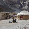 Uighur nomad camp