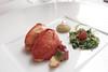 香料油泡緬因龍蝦  鮪魚與北非香草沙拉<br /> Maine Lobster Poached in Spice Oil Tuna and Tabouleh