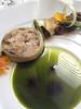 """小母雞與牛肝蕈  橄欖與綠蘆筍<br /> Poularde in Cabbage Porcini and """"Olive Oil"""""""