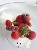 陳年伊比利火腿與番茄  覆盆子與乳酪麵糰子<br /> 5J Iberico Ham and Tomato  Raspberry and Gnocchi