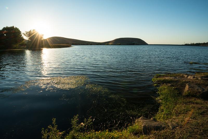 Starburst Over Contra Loma Reservoir