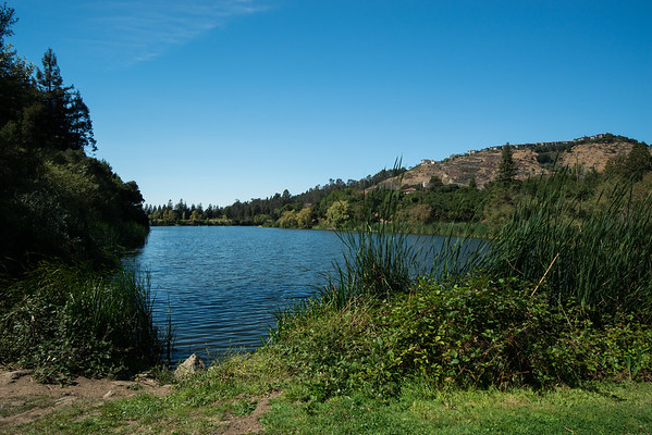 Esat Bay Regional Parks; Temescal Regional Recreation Area; california; east bay; lake From this perpective, you wouldn