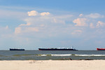 The Ship Channel of Galveston Bay