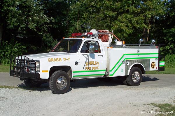 Grass 11-7: 1985 Chevrolet Brush Truck - 250gpm/200gal
