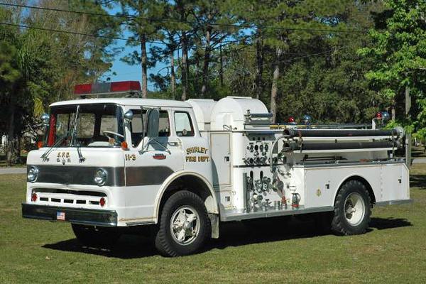 Engine 11-3 - 1966 Ford 850/Bean Pumper - 750gpm/500gal