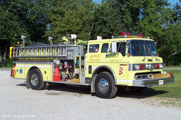 Engine 11-2 - 1984 Ford/Pierce Pumper - 1000gpm/750gal