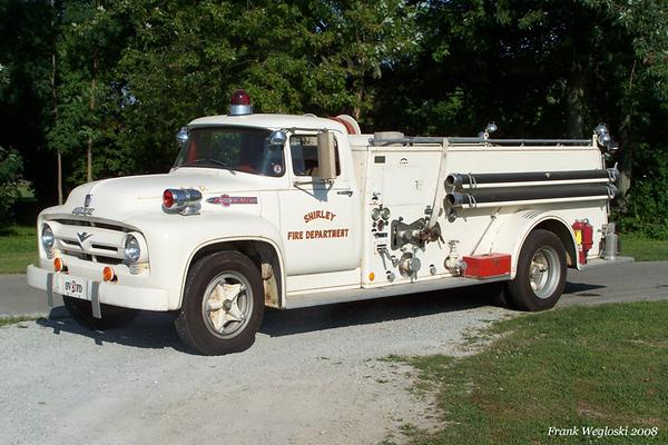 Engine 11-01 - 1956 Ford/Howe Pumper - 500gpm/500gal