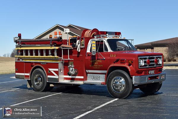 Engine 13-2 - 1986 GMC C5000/FMC Pumper (#6016) - 1000gpm/750gal