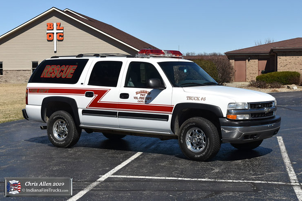 Rescue 13-6 - 2001 Chevy Suburban - Medical First Reponder