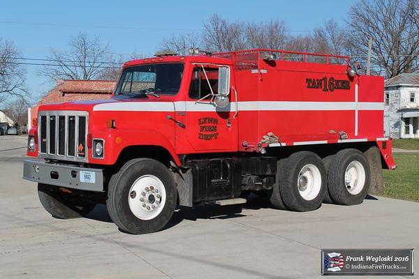 Tanker 16 - 1988 IHC S2500/2011 ??/2014 Oncite LLC - 250gpm/2500gal