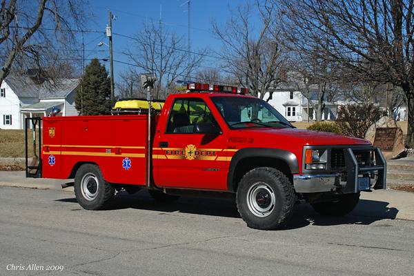 Squad 15 - 1997 GMC K3500/Omaha/Robinsons 4x4 - 100gal