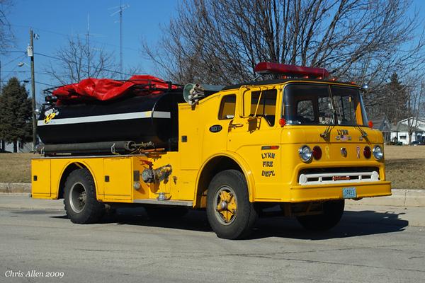 Former Tanker 13 - 1974 Ford C/Howe (#14150-H)/2003 FD/Klein - 750gpm/2200gal