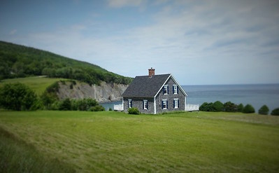 House on Cape Breton Island