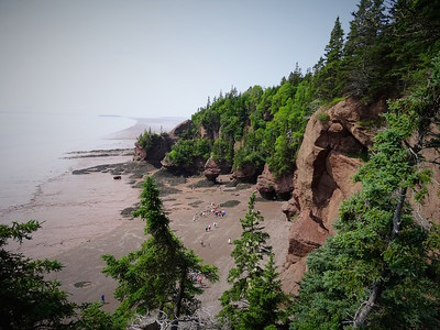 Hopewell Rocks Bay of Fundy NB