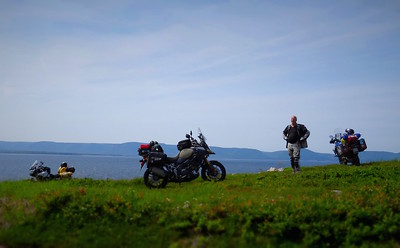ADV Motorcycle Riding Cabot Trail Cape Breton