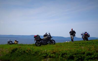 ADV Motorcycle Riding Cabot Trail Cape Breton