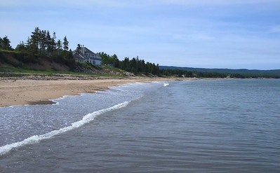 Beach at Ingonish Nova Scotia