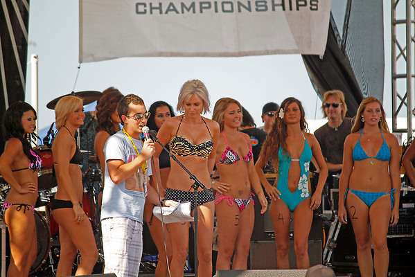 Miss ECSC Swimsuit Pageant Was sponsored by Guadalajara's & Sundays Bluebox Tanning Resort