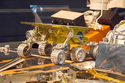 Full scale model of Mars Sojourner rover