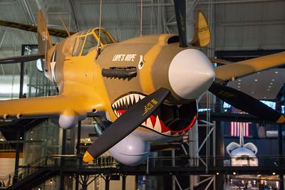 Curtiss P-40E Kittyhawk - WWII fighter