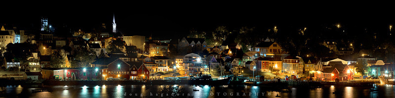 Lunenburg At Nite (#0141)