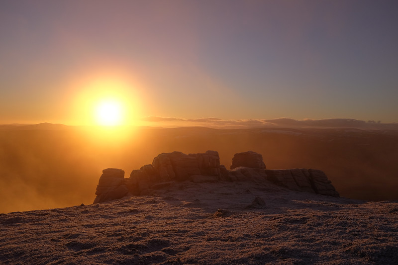 Sunrise from Ben Rinnes