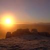 Sunrise from Ben Rinnes
