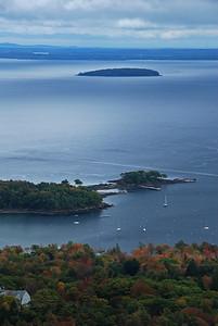 Overlook Above Camden, Maine