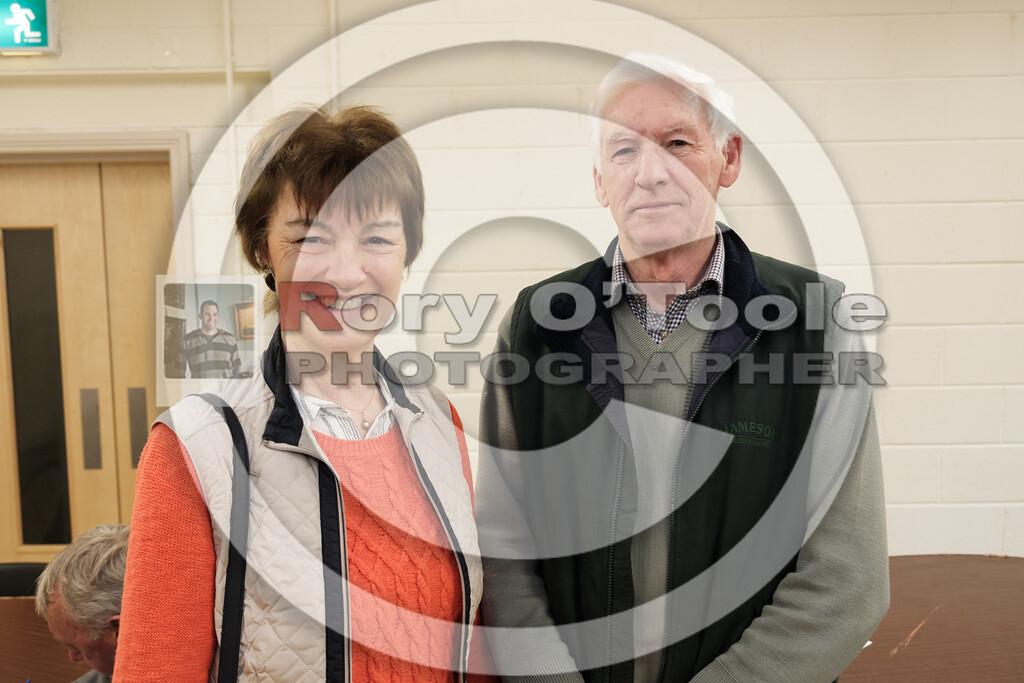 Tadhg & Helen O'Loughlin at the Ballinrostig Vintage Club run. Picture: Rory O'Toole