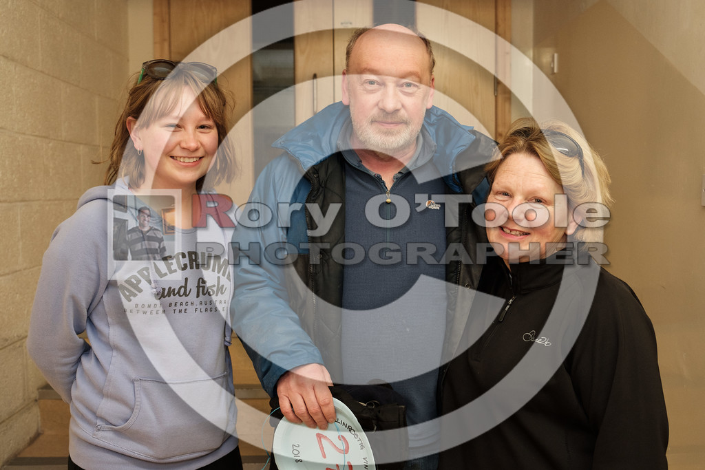 Gillian, Tony & Pam Mulcahy at the Ballinrostig Vintage Club run. Picture: Rory O'Toole