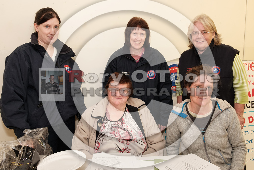 Denise Moynihan, Eileen O'Driscoll, Yvonne Seddon, Elizabeth Moynihan & Sinead Wall at the Ballinrostig Vintage Club run. Picture: Rory O'Toole