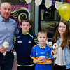 Cha, Charlie, Jack & Ella O'Neill at the Fusion Help Aaron Fundraiser. Picture: Rory O'Toole