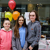 Ellie O'Keeffe, Nicole O'Keeffe & Ava Roche at the Fusion Help Aaron Fundraiser. Picture: Rory O'Toole