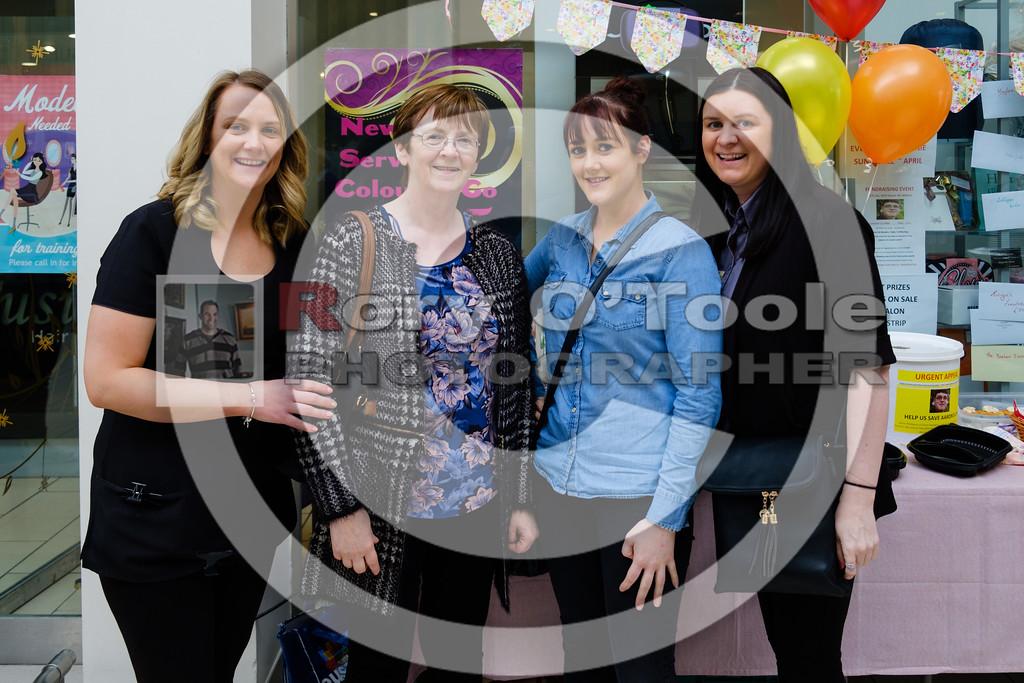 Ciara Walsh, Helen & Denise O'Mahony and Eve O'Shea at the Fusion Help Aaron Fundraiser. Picture: Rory O'Toole