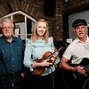 Mike Greaney, Imelda McCarthy & John Joyce of Finnegans Gales