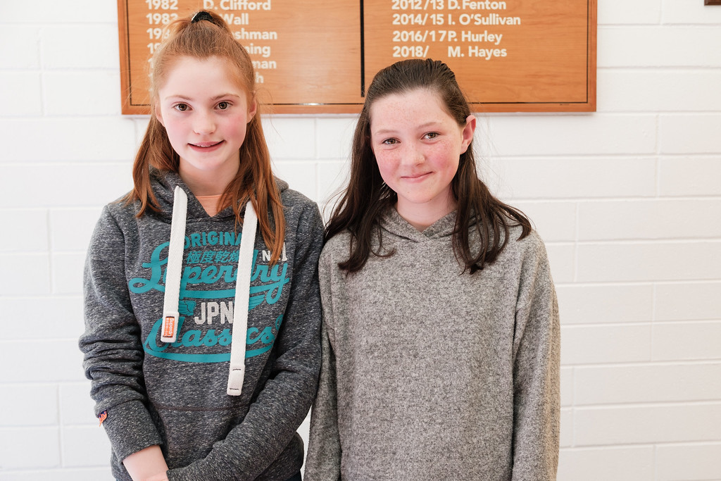 Maire Hynes McLaughlin and Aoife Fitzgerald