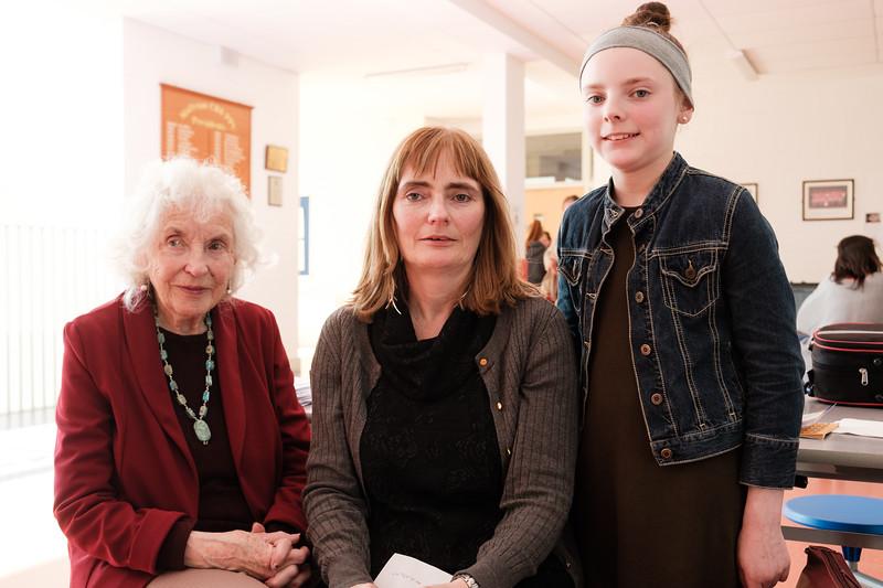 Brid Mannion, Susan Mannion O'Brien & Cara O'Brien