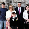 Communion boy Alan Fitzgerald & family