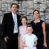 Communion girl Sarah Goulding & family