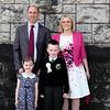 Communion boy Adam Grouke & family