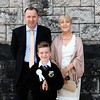 Communion boy Ciaran Mulligan & family