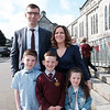 Communion boy Dylan McInerney & Family