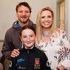 Cullen & Aoibheann Allen with Fiona Sandes