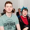 Fergus Damery & Melanie O'Driscoll in the Sirius Arts Centre Cobh