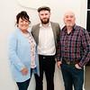 Marie, Glen (actor) & Douglas Kavanagh in the Sirius Arts Centre Cobh