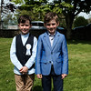 Communion boys Darragh Tobin & David Kelly