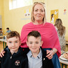 Mairead Spillane with Ryan and Sam